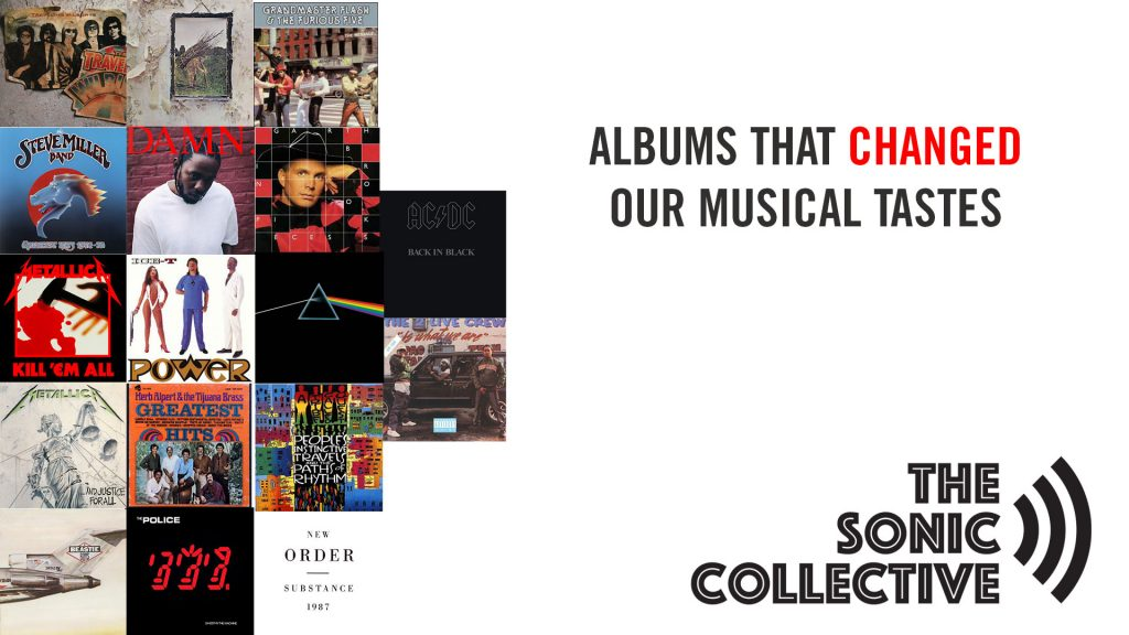 Albums that changed our musical tastes
